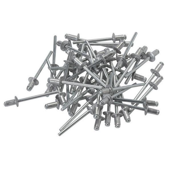 50 Stück ALU Aluminium Blindnieten 19 x 4mm