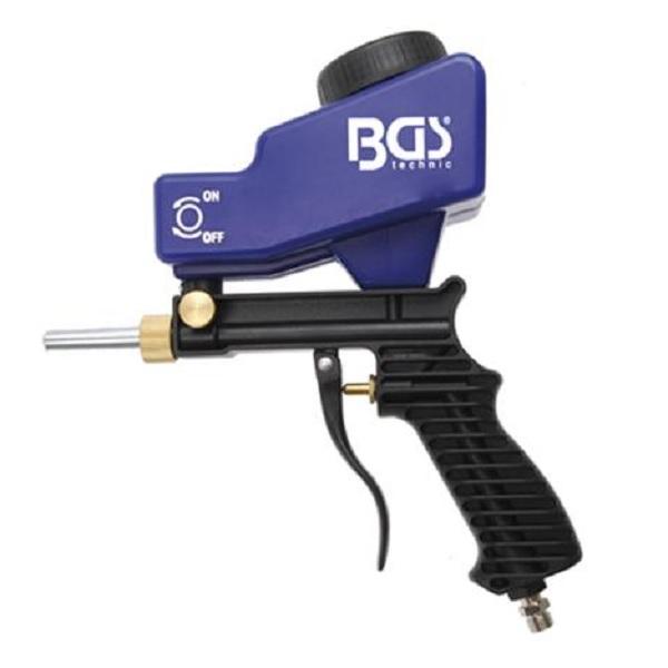 BGS-Druckluft-Sandstrahlpistole-Sandstrahler-mit-Zubehoer-Duese-5-mm-Stahlspitze