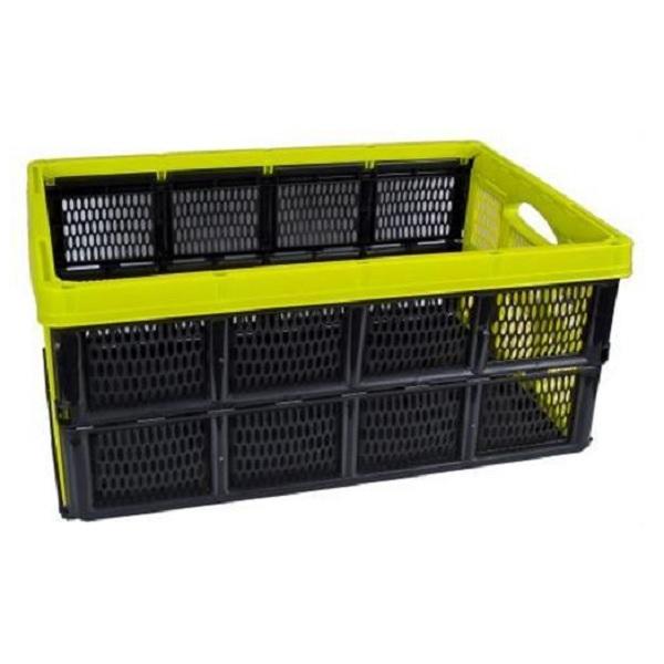 box mit deckel 4l lagerbox stapelbox 29 2 x 19 3 x 13 2. Black Bedroom Furniture Sets. Home Design Ideas