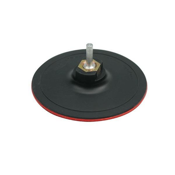 schleifteller 125 mm klett haftteller m14 ersatzdorn ebay. Black Bedroom Furniture Sets. Home Design Ideas