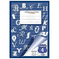Heft, Schulheft CENTINI A5, Lineatur 4, abgesetzte Linien
