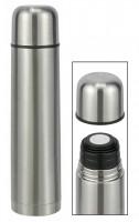 Isolierflasche Thermosflasche Thermoskanne Warmhalteflasche 1,0L Edelstahl