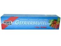 40 Stück Gefrierbeutel 1l extra stark 1 Liter, Poly Beutel Vakuumbeutel Kochfest