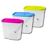 Vorratsdose Müslibox Aufbewahrungsbox Schüttdose 5,7l, 24,5x25,5x14 cm