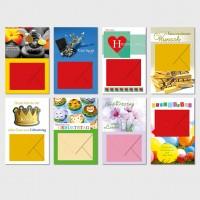 Glückwunschkarten Allgemein - Geldgeschenkkarten Grußkarten Karten 11,5x17,5 cm