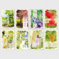 Glückwunschkarten Geburtstagskarten Grußkarten Natur pur 11,5x17,5 cm