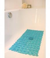 Badewanneneinlage Badematte Wanneneinlage Antirutschmatte 70x36 cm blau