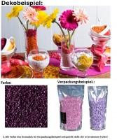 Deko Dekosteine Granulat Farbgranulat Steine Streudeko Farbe Plum 2-3mm