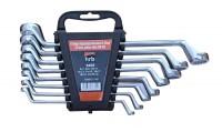 8 tlg. PROFI Doppel Ringschlüssel Satz 6-22 mm mit Halter CV DIN838