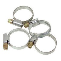 4 x Schlauchschellen 32-50mm Edelstahl Schlauchklemmen rostfrei bis 32 - 50 mm