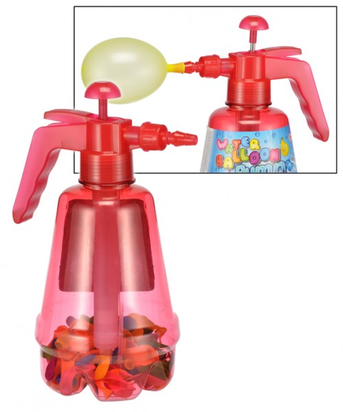 Wasserbomben inkl. Pumpe Wasserballons Wasserschlacht Luftballons100 Stück