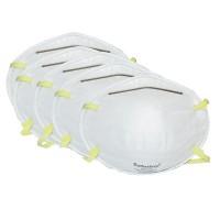 5 Stück Staubmaske FFP1 Atemschutzmaske Staub Maske Feinstaubmaske, Fein