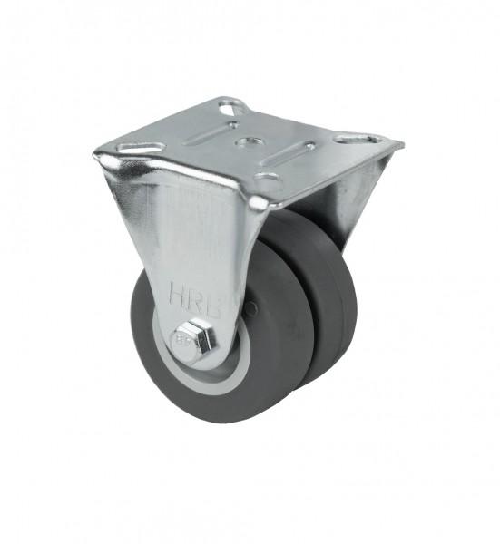 Bockrolle Transportrolle, Möbelrolle, 100 kg - 50 mm