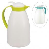Thermoskanne Isolierflasche Thermosflasche Warmhalteflasche 1,0L Kunststoff