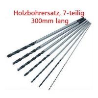 Holzbohrer Holz Bohrsatz Balkenbohrer 7-teilig, 300 mm lang, 4 5 6 7 8 10 12mm