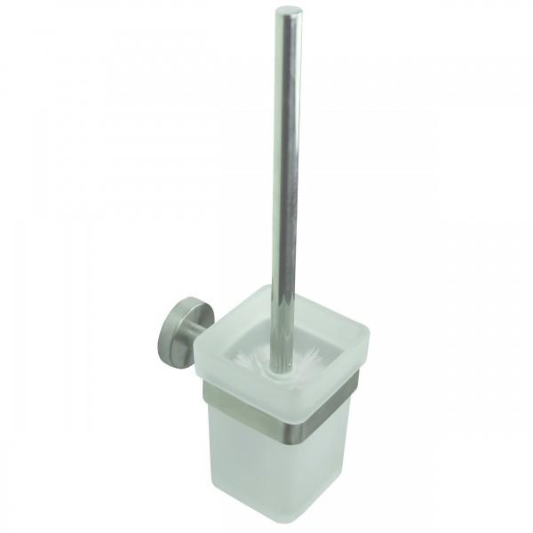 WC Bürste Set, bestehend aus Klobürste und WC Garnitur, Toilettenbürstengarnitur