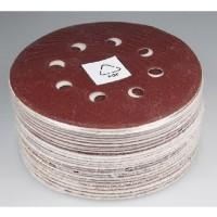 50 Stück Klett Exzenterschleifer Schleifscheiben 125 mm 40 -180 Schleifpapier