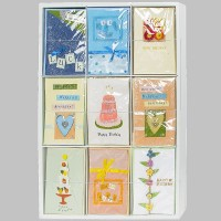 Glückwunschkarten Geburtstagskarte Handmade Geburtstag 90 Karten Holzdisplay