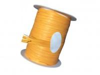 Rolle Schnur Geschenkband Raffia Farbe orange , arancio 10 mm x 15 m