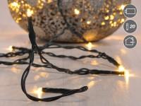 LED Lichterkette für Innen, Weihnachten, Beleuchtung 20 LED's, Batterie