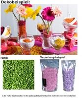 Deko Dekosteine Granulat Farbgranulat Steine Streudeko Farbe Peppermint 2-3mm