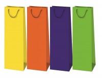 Geschenktüte Flaschentüte unifarben- Jumbo 39 x 12 x 9 cm
