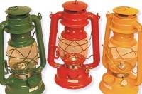 Nostalgie Petroleumlampe 28 cm hoch Windlampe Sturmlaterne Notlicht Öl Lampe
