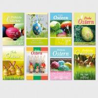 Glückwunschkarten Osterkarten Grußkarten Ostern Karten, 11,5 x 17 cm