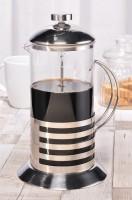 Teekanne, Kaffeekanne, 1 Liter, Karaffe, Isolierkanne, Glaskanne