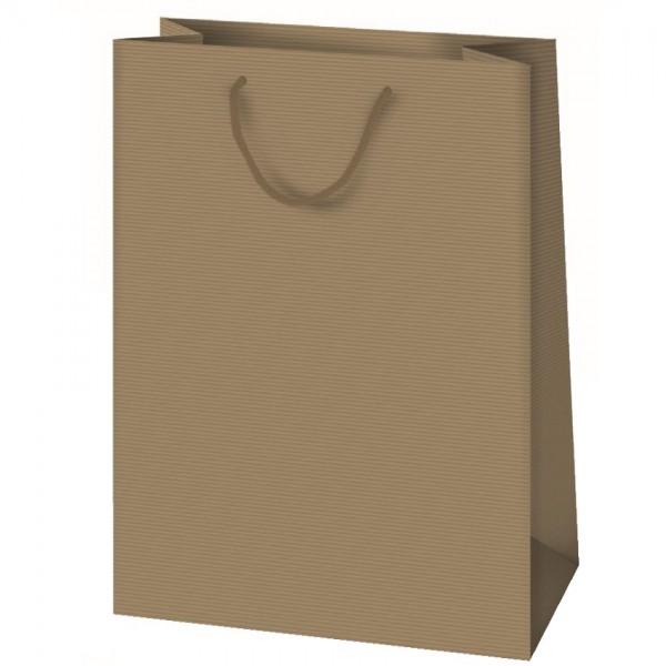 Geschenktüte - Groß aus Packpapier 33 x 23 x 10 cm