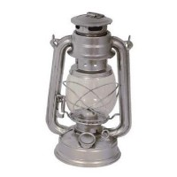 Nostalgie Petroleumlampe 23 cm hoch Windlampe Sturmlaterne Notlicht Öl Lampe