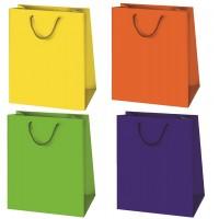 Geschenktüte unifarbend - Groß 33 x 23 x 10 cm