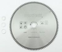 315 x 30mm HM NE Metall Kreissägeblatt 100Z 3 Reduzierringe Alu Kunststoff Eisen