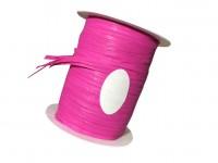 Rolle Schnur Geschenkband Raffia Farbe magenta 10 mm x 15 m
