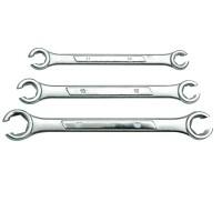 offener Ringschlüssel Satz 10-17 mm 3 tlg Bremsleitungen Bremsleitungsschlüssel