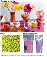 Deko Dekosteine Granulat Farbgranulat Steine Streudeko Farbe lime 2-3mm
