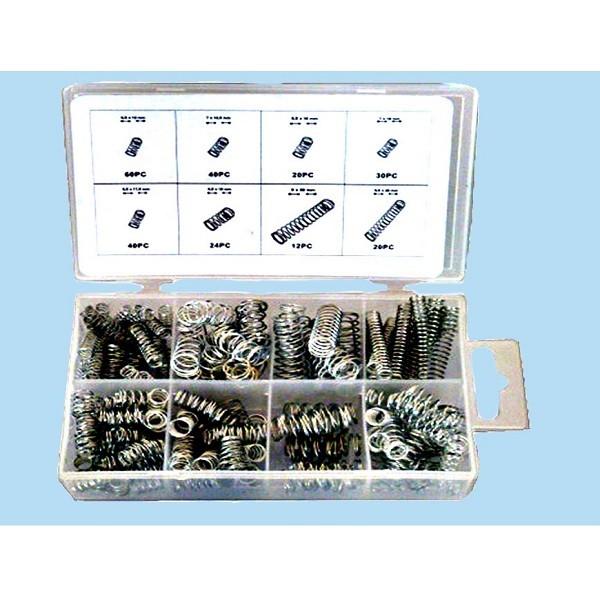 246 tlg. Set Druckfedern, Druckfedern + Box Feder Sortiment Stahlfedern