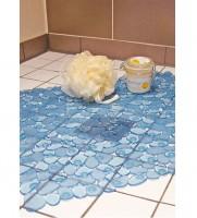 Duschwanneneinlage Duschmatte Wanneneinlage Antirutschmatte 53x53 cm blau