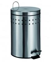 Mülleimer Treteimer Abfalleimer Badeimer 12 Liter Kosmetikeimer Müllbehälter