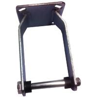 Halter, Rahmen für 260 mm Transportrolle, Bockrolle, Luftreifen 3.00-4