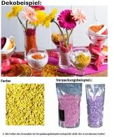 Deko Dekosteine Granulat Farbgranulat Steine Streudeko Farbe lemon 2-3mm