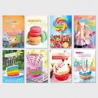 Glückwunschkarten Geburtstagskarten Grußkarten Party 11,5x17,5