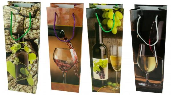 Flaschentüte Wein- Jumbo 36 x 12 x 9 cm