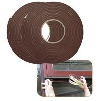 0,23 Eur/m 11 Meter Dichtungsband für Fenster / Tür 9 mm Braun