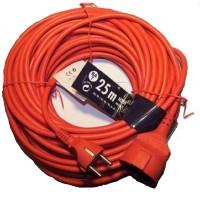 Hammerpreis! Verlängerungskabel Stromkabel 25 m Rot H05VV-F 3G1,5 Brennenstuhl