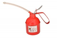 Ölkännchen 500ml, Metall mit Pumpe & Schlauch Ölkanne Ölpistole Öl Kanne