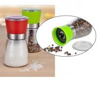 Pfeffermühle Gewürzmühle Salzmühle Kräutermühle Glas Keramikmahlwerk