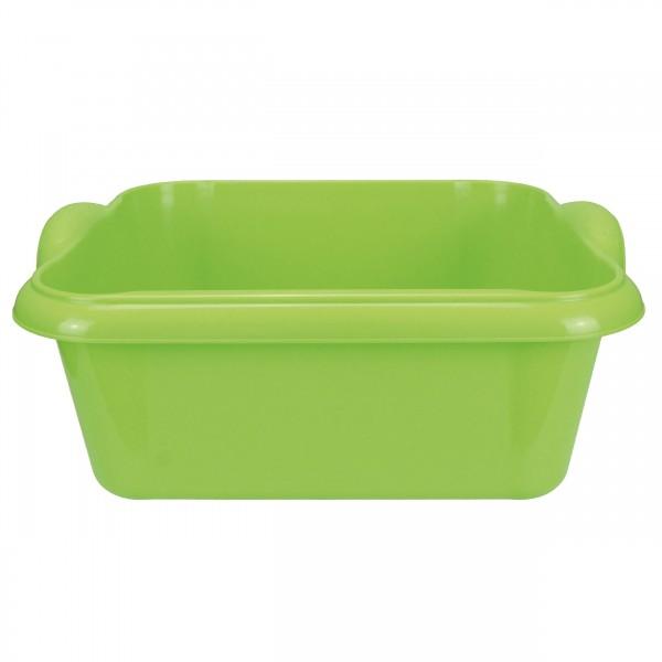 Schüssel, 10 L Grün, 36,5 x 31 x 15 cm,Spülschüssel Platikschüssel Waschschüssel
