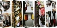 Geschenktüte Flaschentüte Jumbo Motiv Wein 36x13x9 cm