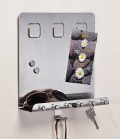 Schlüsselbrett Schlüsselboard Schlüsselleiste Schlüsselkasten mit Ablage,.Magnet